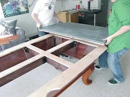 Pool table moves in Columbus Ohio