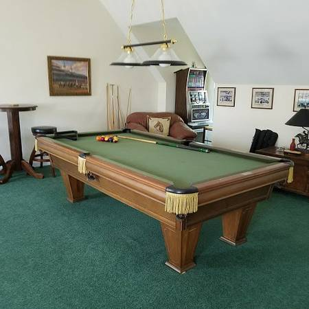 Outstanding Solo Columbus Brunswick Heirloom Pool Table 21 Download Free Architecture Designs Scobabritishbridgeorg
