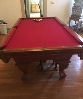 Billiard Pool Table for Sale