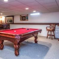 Pool Table with Ping Pong Table