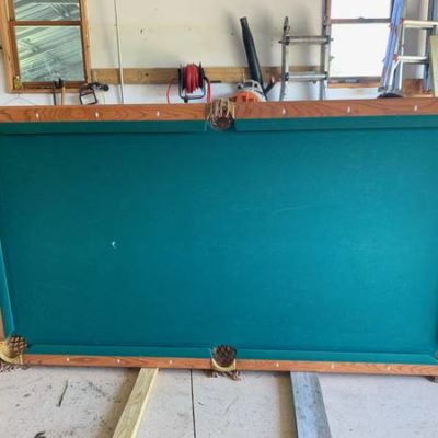 8' Brunswick Brookstone Pool Table