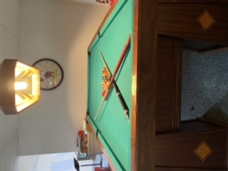 Antique Ohio Pool Table