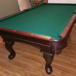 8 Ft. OLHAUSEN AMERICAN POOL TABLE (Like New)